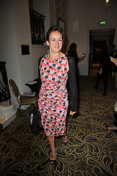 CAROLINE MICHEL at the Tatler Restaurant Awards 2011 held at the Langham Hotel, Portland Place, London on 9th May 2011.