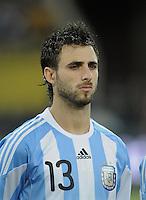 FUSSBALL   INTERNATIONAL   Testspiel  in  Doha  17.11.2010 Argentinien - Brasilien Nicolas PAREJA  (Argentinien)