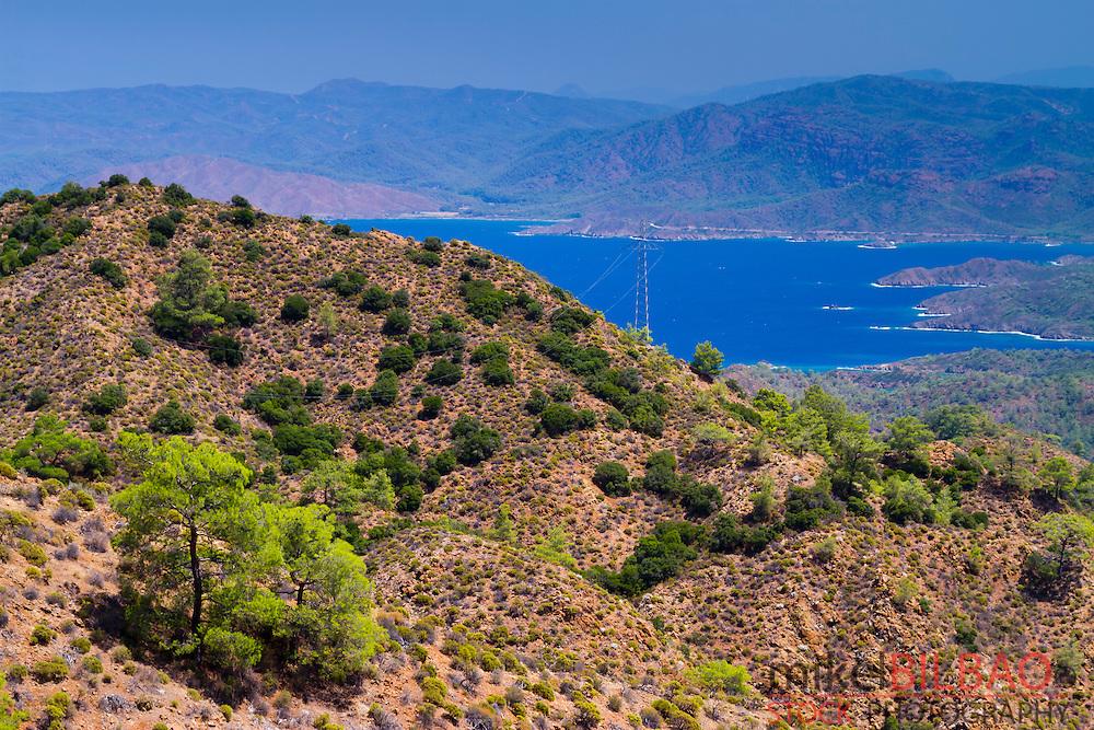 Datca peninsula, Mugla province, Anatolia, Turkey.