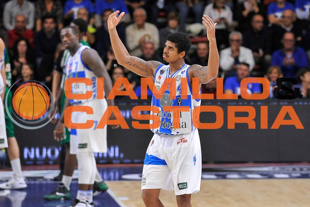 DESCRIZIONE : Campionato 2014/15 Dinamo Banco di Sardegna Sassari - Sidigas Scandone Avellino<br /> GIOCATORE : Edgar Sosa<br /> CATEGORIA : Ritratto Esultanza<br /> SQUADRA : Dinamo Banco di Sardegna Sassari<br /> EVENTO : LegaBasket Serie A Beko 2014/2015<br /> GARA : Dinamo Banco di Sardegna Sassari - Sidigas Scandone Avellino<br /> DATA : 24/11/2014<br /> SPORT : Pallacanestro <br /> AUTORE : Agenzia Ciamillo-Castoria / Luigi Canu<br /> Galleria : LegaBasket Serie A Beko 2014/2015<br /> Fotonotizia : Campionato 2014/15 Dinamo Banco di Sardegna Sassari - Sidigas Scandone Avellino<br /> Predefinita :