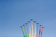 September 3-5, 2015 - Italian Grand Prix at Monza: Italian air show