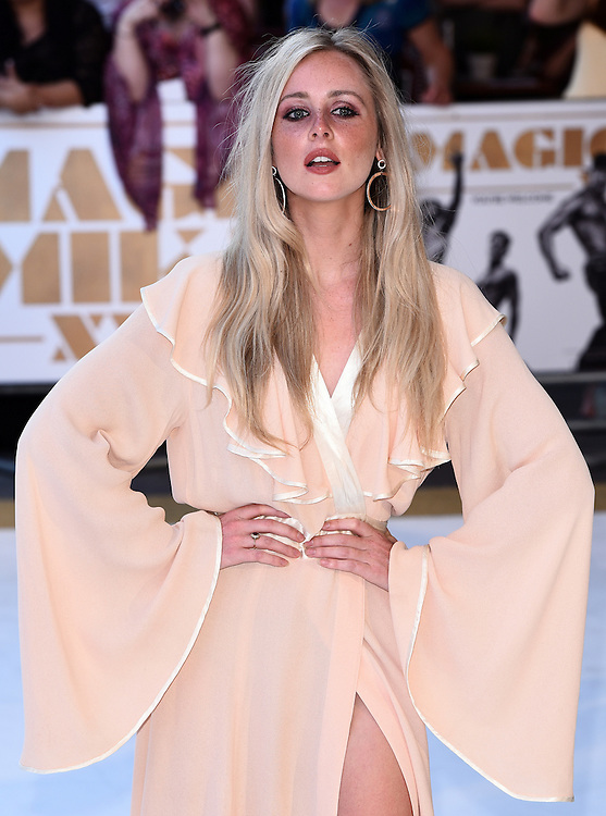Diana Vickers attends Magic Mike XXL European Premiere at Vue West End, Leicester Square, London  on Tuesday 30 June 2015