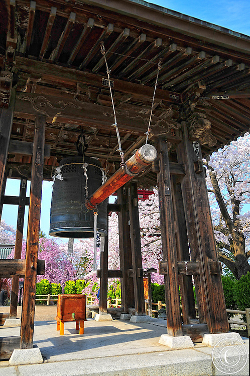 Pagoda bell towerlocated in Hirosaki northern Japan.