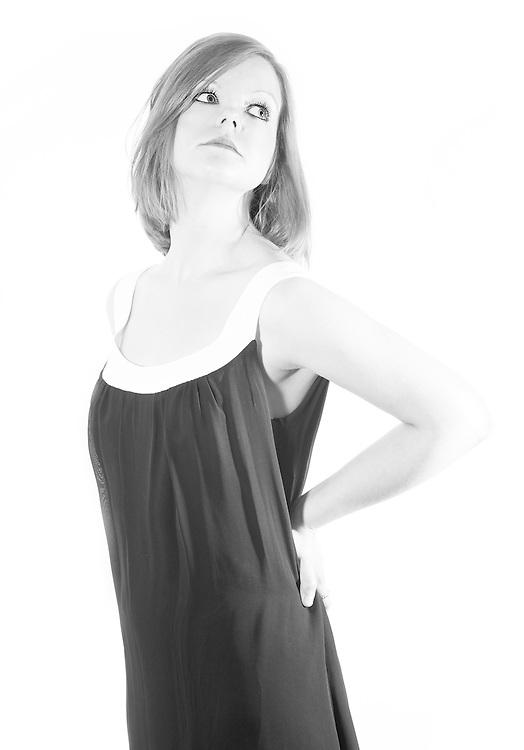 Chantelle - Jane Birkin 02<br /> This is my interpretation of a David Bailey shot of Jane Birkin from the the 1960s.