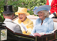 Queen Elizabeth & Camilla At Royal Ascot