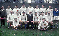 Ulster rugby team who played Munster at Ravenhill, Belfast, 11th November 1967. 19671111188UCOL<br />