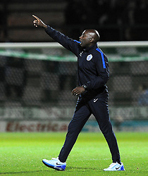 QPR's Manager Chris Ramsey - Photo mandatory by-line: Harry Trump/JMP - Mobile: 07966 386802 - 11/08/15 - SPORT - FOOTBALL - Capital One Cup - First Round - Yeovil Town v QPR - Huish Park, Yeovil, England.