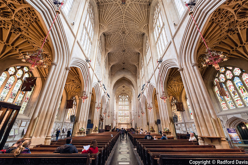 Bath Abbey in Bath, England
