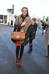 BRYONY DANIELS at the 2012 Hennessy Gold Cup at Newbury Racecourse, Berkshire on 1st December 2012