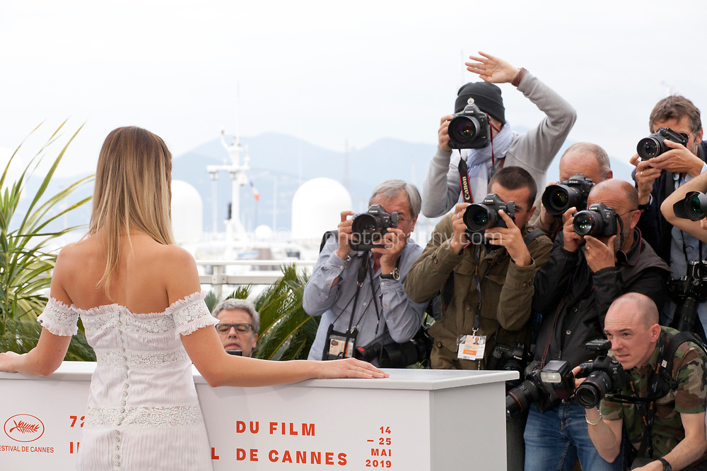 Actress Margot Robbie at Once Upon A Time... In Holywood film photo call at the 72nd Cannes Film Festival, Wednesday 22nd May 2019, Cannes, France. Photo credit: Doreen Kennedy