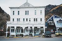 Day 3 - A Walk through town. Historic Western Hotel, Ouray, Colorado.