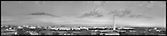 Panoramic View of Washington, DC.  Includes The Capitol, Washington Monument, Smithsonian Mall, The White House, among other Washington, DC landmarks and Washington, DC Monuments. Print Sizes (inches): 15x3.5; 24x5.5; 36x8; 48x10.5; 60x13; 72x18