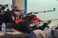 SKYTING<br /> 12. august 2016<br /> Olympiske leker <br /> Rio de Janeiro<br /> 50m rifle 60 skudd liggende, menn<br /> Odd Arne Brekne (L) , Norge <br /> Foto: Astrid M. Nordhaug