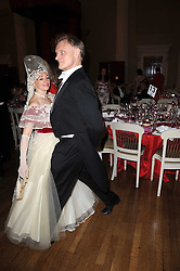 CHRISTOPHER & MARINA ARKELL dancing at the 13th annual Russian Summer Ball held at the Banqueting House, Whitehall, London on 14th June 2008.<br /><br />NON EXCLUSIVE - WORLD RIGHTS