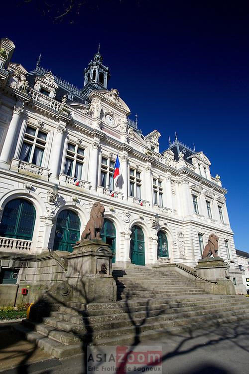 L'hotel de Ville de Vannes, prefecture du Morbihan