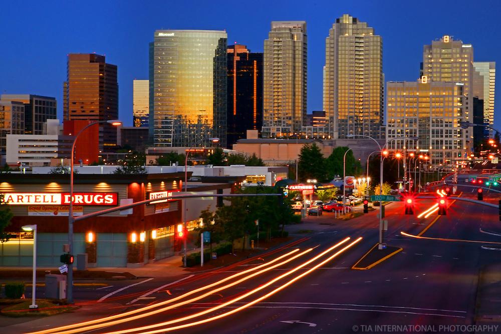 Downtown Bellevue, Sunrise