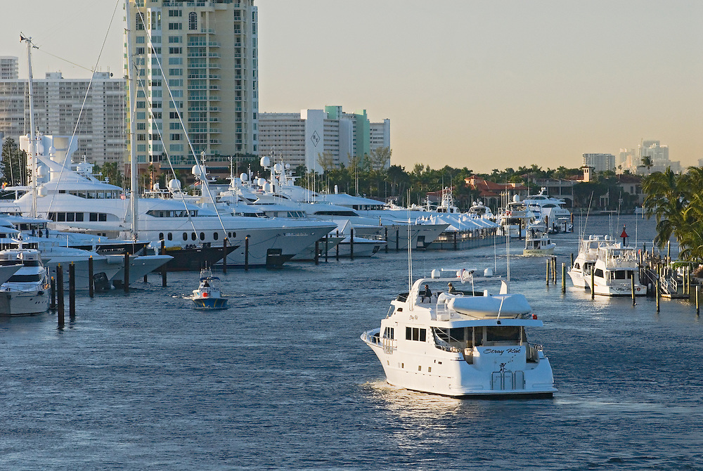 Florida, Fort Lauderdale, International Boat Show, yacht