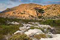 Mediterranean landscape, Antikythera island, Greece