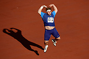 Adrian Peperi (USA) wins the Silver Medal in Shot Put Men during the IAAF World U20 Championships 2018 at Tampere in Finland, Day 1, on July 10, 2018 - Photo Julien Crosnier / KMSP / ProSportsImages / DPPI