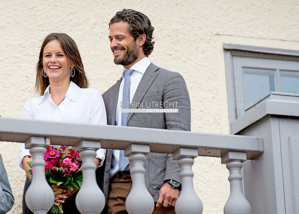 26-8-2015  SWEDEN - ARVIKA Prince Carl Philip and Princess Sofia visit   Mårbacka - Selma Lagerlöf, Sunne author Selma Lagerlof was born and grew up on Marbacka. Marbacka operated by a private foundation in accordance with Lagerlöf will.  during day 1 . Two day visit of Prince Carl Philip and Princess Sofia's official visit to Värmland . COPYRIGHT ROBIN UTRECHT