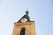 Israel, Jaffa, The Old clock tower in Jaffa, Clock Square, built in 1906 in honor of Sultan Abed al-Hamid II's 25th anniversary, became the center of Jaffa, and it is centered between Jaffa's markets