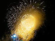 New Years Eve Fireworks at Edinburgh Castle - Edinburgh, Scotland, United Kingdom of Great Britain
