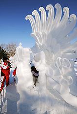 JAN 3 2013 18th Harbin International Snow Sculpture Contest