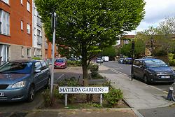 Royal Mail - Matilda Gardens, Bow. London, April 25 2018.