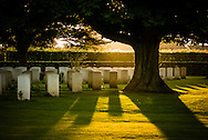 The largest Commonwealth Cemetery of World War II soldiers is in Bayeux, France.