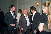 TIM JEFFERIES; SIR PHILIP GREEN; ARPAD BUSSON, Dinner to mark 50 years with Vogue for David Bailey, hosted by Alexandra Shulman. Claridge's. London. 11 May 2010 *** Local Caption *** -DO NOT ARCHIVE-&copy; Copyright Photograph by Dafydd Jones. 248 Clapham Rd. London SW9 0PZ. Tel 0207 820 0771. www.dafjones.com.<br /> TIM JEFFERIES; SIR PHILIP GREEN; ARPAD BUSSON, Dinner to mark 50 years with Vogue for David Bailey, hosted by Alexandra Shulman. Claridge's. London. 11 May 2010