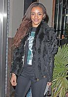 LONDON - January 28: Amal Fashanu in London (Photo by Brett D. Cove)