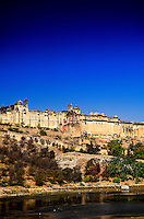 Amber Palace and Fort, near Jaipur, Rajasthan, India