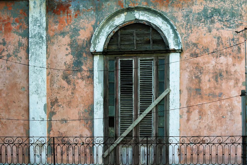 Balcony in Havana Centro, Cuba.