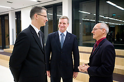 Slovenian Minister for school and sport dr. Igor Luksic, ... and Miroslav Cerar at 45th Awards of Stanko Bloudek for sports achievements in Slovenia in year 2009, on February 9, 2010, Brdo pri Kranju, Slovenia.  (Photo by Vid Ponikvar / Sportida)