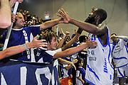 Tony Easley, Commando Ultra' Dinamo<br /> Banco di Sardegna Dinamo Sassari - Angelico Biella<br /> Legabasket Serie A Beko 2012-2013<br /> Sassari, 30/09/2012<br /> Foto L.Canu / Ciamillo-Castoria