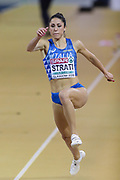 Laura Strati (Italy), Long Jump, during the European Athletics Indoor Championships 2019 at Emirates Arena, Glasgow, United Kingdom on 1 March 2019.