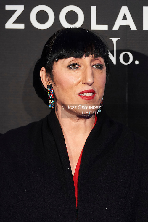 Rossy de Palma attend 'Zoolander No. 2' film premiere at Capitol Cinema on February 1, 2016 in Madrid, Spain