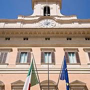 Palazzo Montecitorio at Piazza di Montecitorio, Rome, Italy