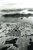 Valderøya og Giske sett fra luften.<br /> Foto: Svein Ove Ekornesvåg