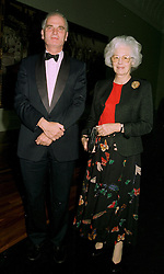 SIR RICHARD & LADY CAREW POLE at a dinner in London on 1st July 1997.<br /> LZW 64