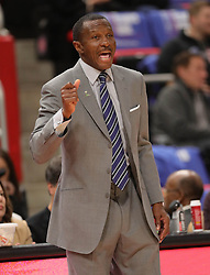 October 17, 2018 - Detroit, MI, USA - Detroit Pistons head coach Dwane Casey on the bench during second-period action against the Brooklyn Nets on Wednesday, Oct. 17, 2018, at Little Caesars Arena in Detroit. (Credit Image: © Kirthmon F. Dozier/Detroit Free Press/TNS via ZUMA Wire)