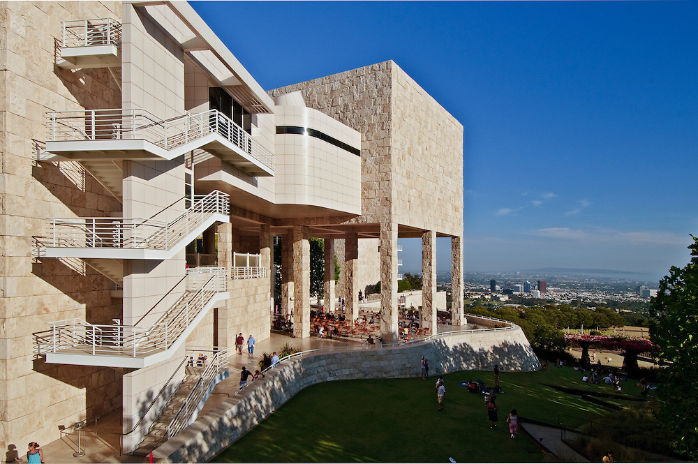 Image Result For Getty Center Building Materials