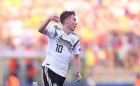 FUSSBALL UEFA U21-EUROPAMEISTERSCHAFT Halbfinale 2019  in Italien  Deutschland - Rumaenien    27.06.2019 JUBEL Deutschland, Torschuetze zum 3-2 Luca Waldschmidt