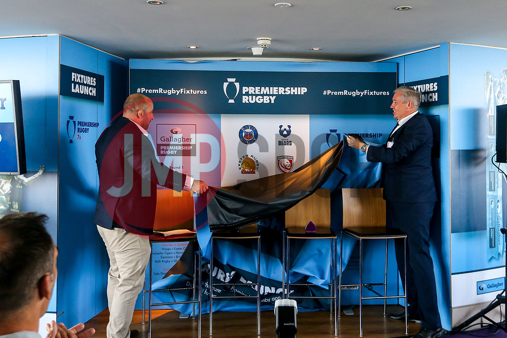 The Opening round of fixtures are revealed at the launch of the 2018/19 Gallagher Premiership Rugby Season Fixtures - Mandatory by-line: Robbie Stephenson/JMP - 06/07/2018 - RUGBY - BT Tower - London, England - Gallagher Premiership Rugby Fixture Launch