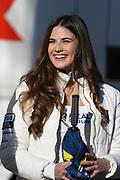 Grid girl during the Gran Premio Motul de la Comunitat Valenciana at Circuito Ricardo Tormo Cheste, Valencia, Spain on 16 November 2019.