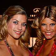 NLD/Amsterdam/20091121 - JFK Great men of the Year Gala 2009, Kim Kötter en vriendin Esther Pierweijer