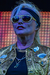 "NEWPORT BEACH, California/USA (Saturday, September 15, 2012) -  Legendary lead singer Deborah Harry and co-founder  of inductee  Rock and Roll Hall of Fame  Blondie rocked her fans with some of their mega hits like ""call me"", ""heart of glass"", ""one way or another"" among others of the latest album ""Panic of Girls"" during Blondie's solid performance at the 2012 Taste of Newport in Newport Beach, CA.  Blondie and Devo are co-headlining ""Whip It To Shreds"" 13 select cities U.S. tour. Byline and/or web usage link must read PHOTO © Eduardo E. Silva/SILVEX.PHOTOSHELTER.COM."