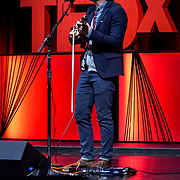 Tall Order TEDx Seattle 2018. Joe Kye (musician). Photo by Alabastro Photography.