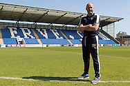 Colchester United unveil John McGreal as their new manager at the Weston Homes Community Stadium, Colchester<br /> Picture by Richard Blaxall/Focus Images Ltd +44 7853 364624<br /> 04/05/2016