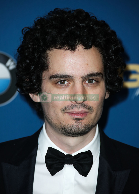 BEVERLY HILLS, LOS ANGELES, CA, USA - FEBRUARY 03: 70th Annual Directors Guild Of America Awards held at The Beverly Hilton Hotel on February 3, 2018 in Beverly Hills, Los Angeles, California, United States. 03 Feb 2018 Pictured: Damien Chazelle. Photo credit: IPA/MEGA TheMegaAgency.com +1 888 505 6342
